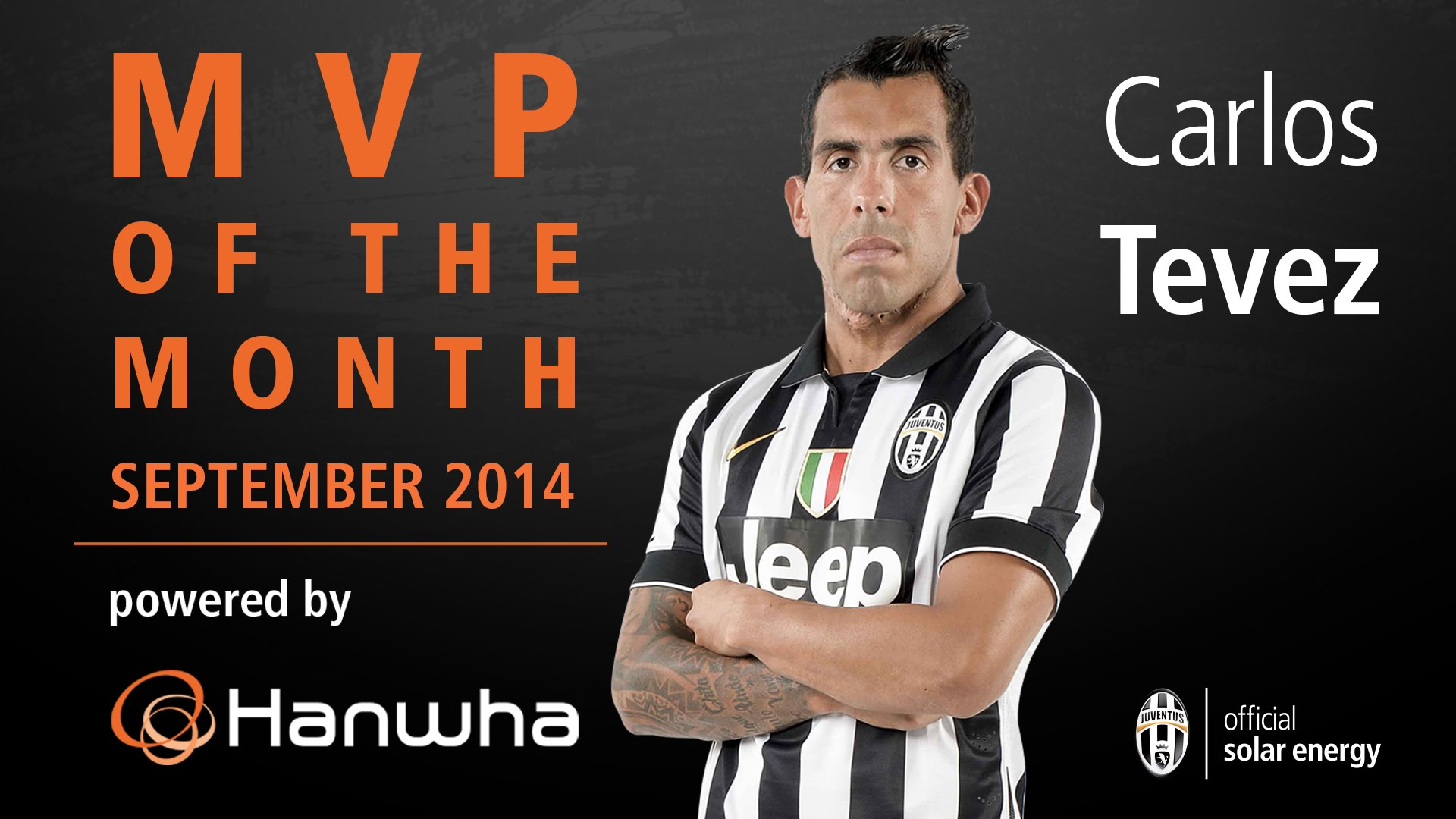 Carlos Tevez's goals and skills September 2014 - MVP of the month powered by Hanwha