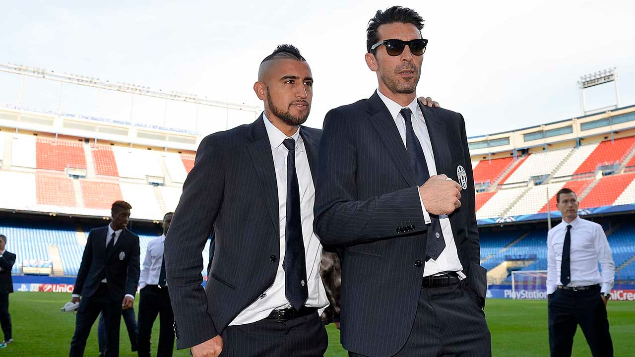 Atletico Madrid-Juventus, la vigilia dei bianconeri - Bianconeri build-up