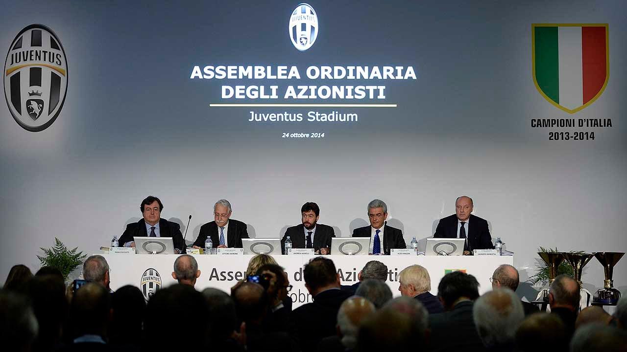 Discorso del Presidente Agnelli all'assemblea degli azionisti Juventus