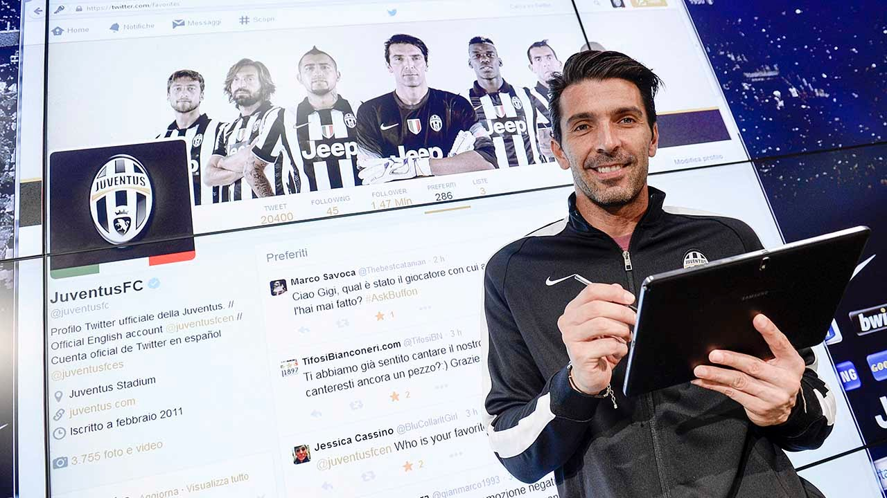 #AskBuffon, il backstage - behind the scenes