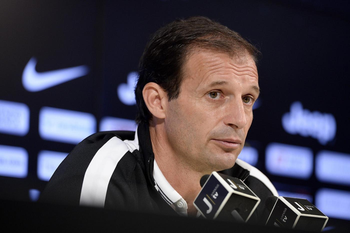 Conferenza stampa di Massimiliano Allegri pre Lazio - Juventus