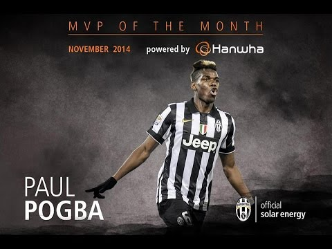 Paul Pogba's goals and skills November 2014 - MVP of the month powered by Hanwha