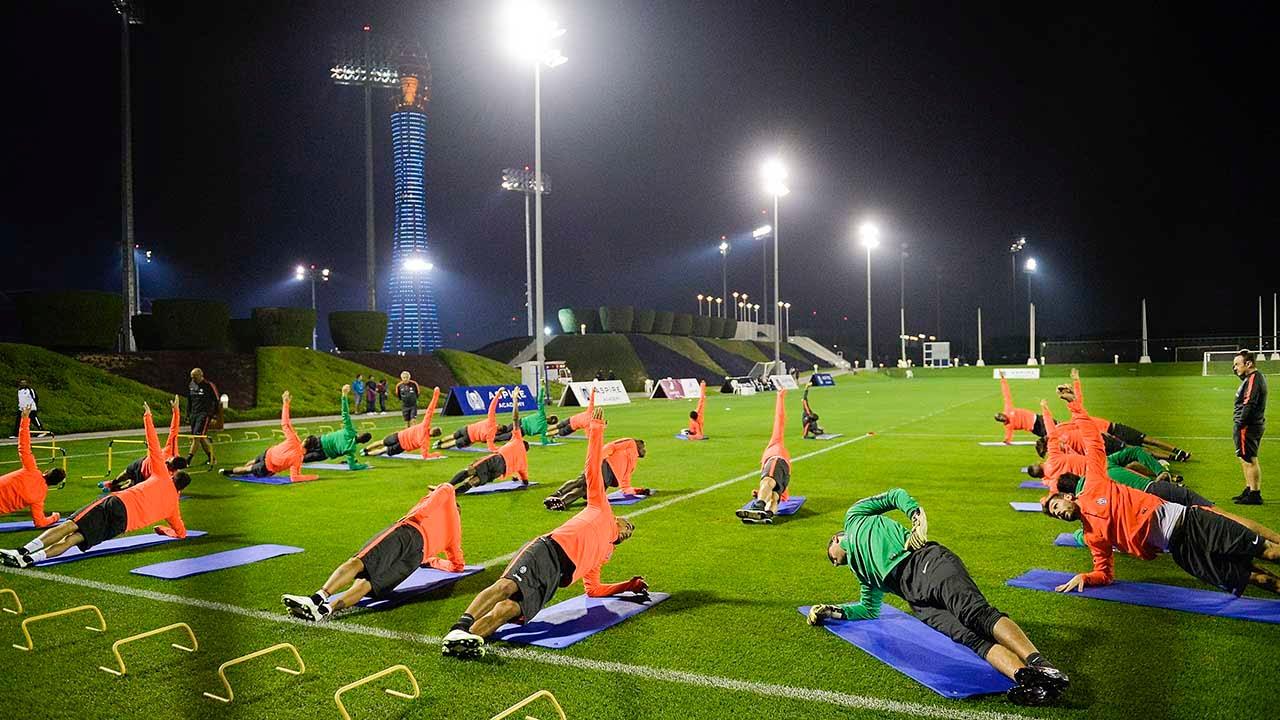 Il primo giorno della Juventus in Qatar - Juventus' first day in Qatar