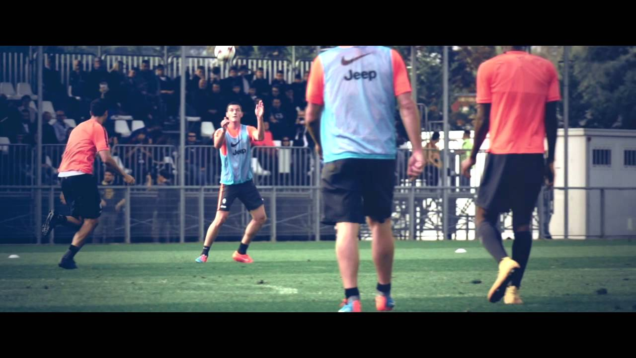 Juventus in slow motion