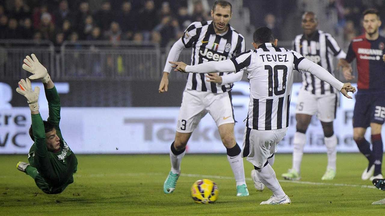 Cagliari-Juventus 1-3 18/12/2014 Highlights