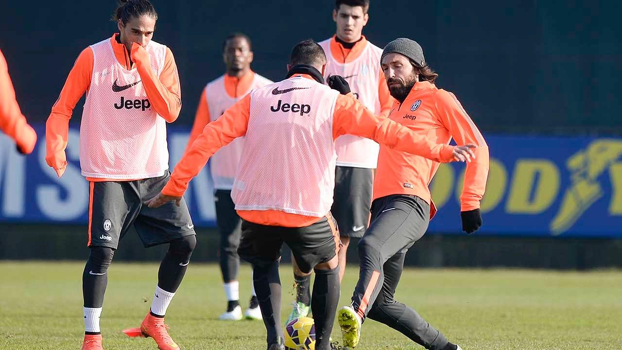 La Juventus prepara la sfida contro il Napoli - Preparations in full swing for Napoli clash