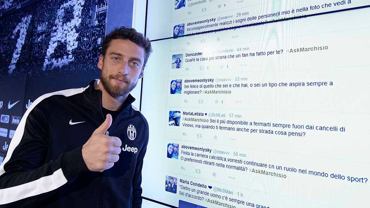 Il backstage dell'#AskMarchisio - #AskMarchisio behind the scenes